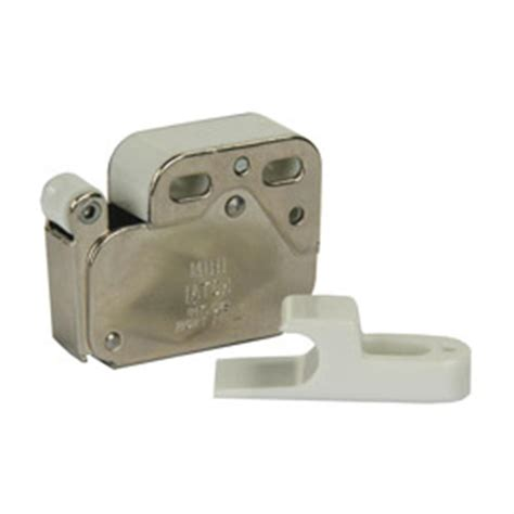 Jr Products Push To Open One Touch Cabinet Latch 194414
