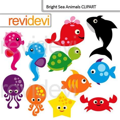 sea creatures clipart sea animals clipart use clip the sea