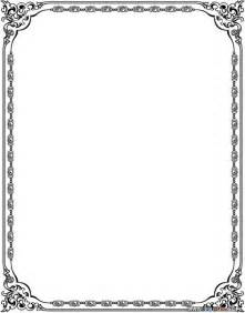 Award Certificate Border