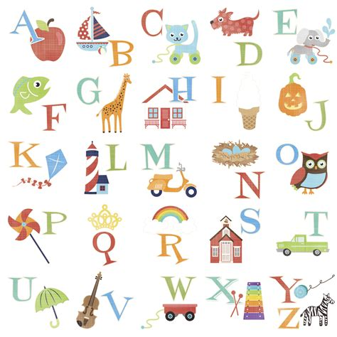 Alphabet Letter Z Words