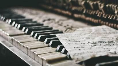 Piano Notes Sheet Wallpapers Desktop Still Pianino