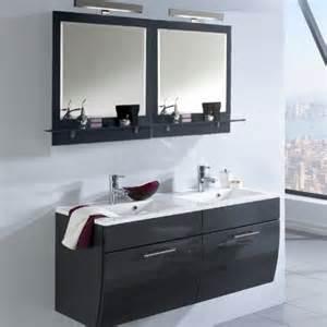 waschplatz badezimmer badezimmer waschplatz set hochglanz anthrazit badmöbel spiegelschrank