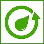 Icon Water Recycle Eco Friendly Vector Clip