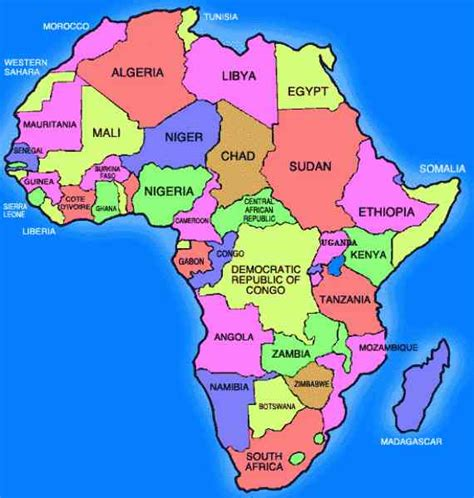 europe north africa map holiday map  holidaymapqcom