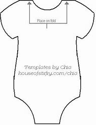 Onesie Baby Shower Templates Printable