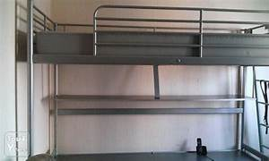 Lit Mezzanine Adulte Ikea : lit metal 1 personne maison design ~ Melissatoandfro.com Idées de Décoration
