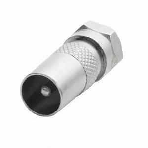 F Stecker Kupplung : 10x f stecker auf iec koax stecker buchse tv sat adapter kupplung verbinder bundles ~ Yasmunasinghe.com Haus und Dekorationen
