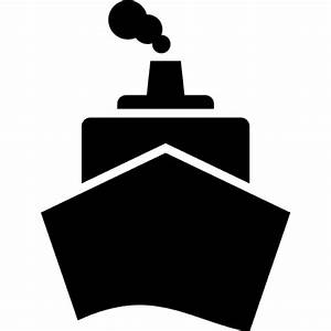 Boat from front view Icons | Free Download