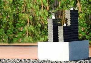 brunnen quellstein miniteich bachlaufe obi With französischer balkon mit wasserspiele im garten anlegen