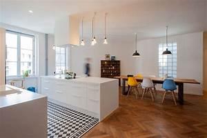 Moderne Fliesen Küche : wohnk che k che von inpuls k chen k chen bodenfliesen ~ A.2002-acura-tl-radio.info Haus und Dekorationen