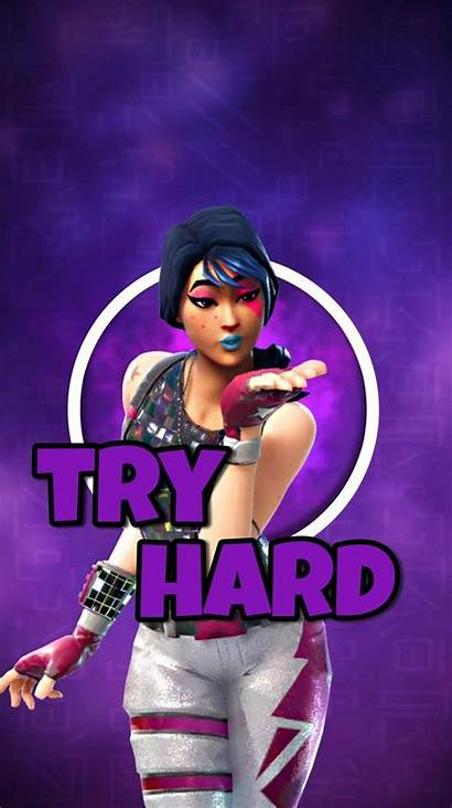 Fortnite Try Hard Sparkle Specialist Wallpapers Backgrounds