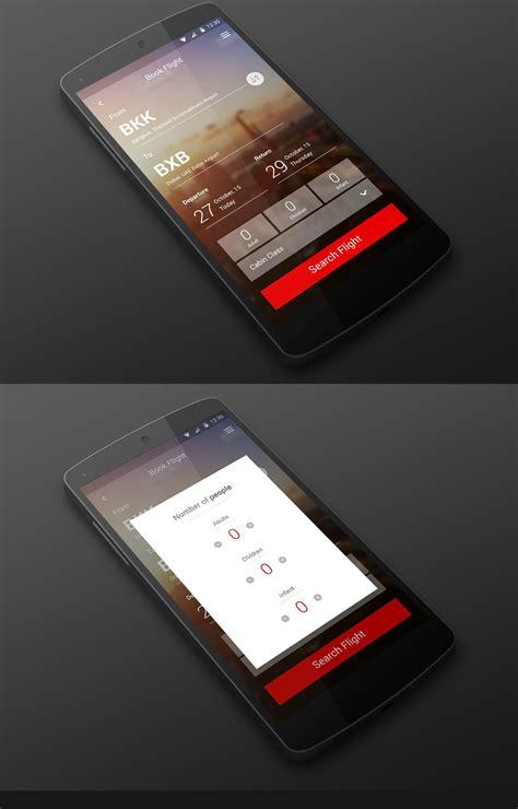 flight booking app design created  esolz  images