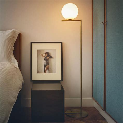 flos ic floor l new arrivals ic lights collection by flos design