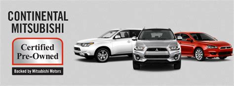 Mitsubishi Pre Owned by Mitsubishi Certified Pre Owned Vehicles In Chicago Il
