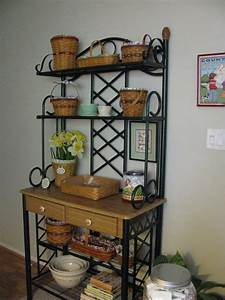 Kitchen Bakers Rack Cabinets Amazing Home Decor : The