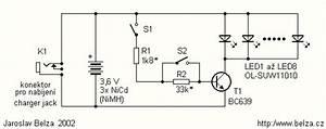 Powerful Led Flashlight Circuit Under Led Circuits