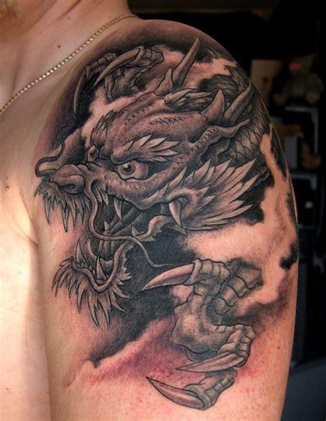 dragon tattoo black  grey  george bardadim tattoo culture nyc