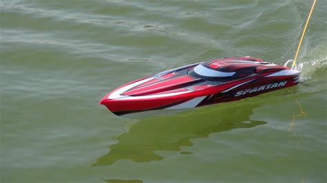 Traxxas Rc Boats Youtube by Traxxas Spartan Rc Boat Leo 4082 6s Youtube