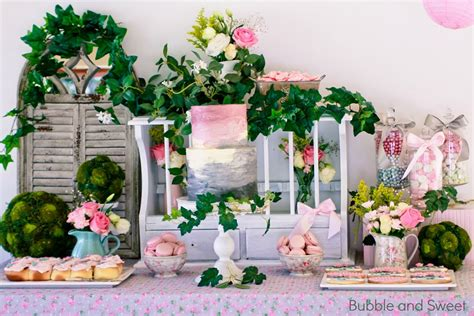 Sweet's Gardening Party With Pink And
