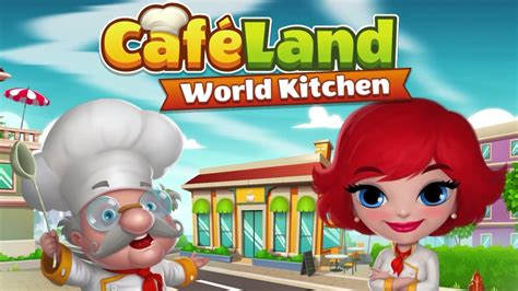 Cafeland World Kitchen  Android Gameplay (by Gamegos