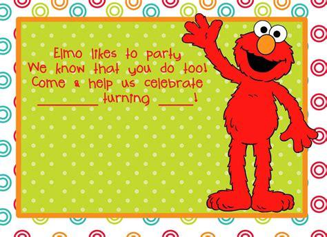 elmo template elmo invitations invitations templates