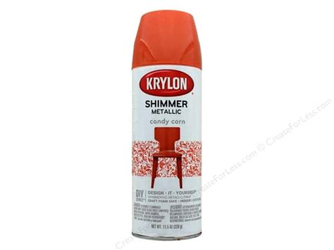 Krylon Shimmer Metallic Spray Paint 11.5 Oz. Candy Corn Sailboat Baby Shower Favors Hydrangea Centerpieces For Girl Unisex Invitation Wording Bath Location Pink Party Punch Balloon Invitations