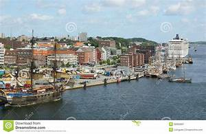 Port Of Kiel Cruise Ship MSC Musica Germany Europe