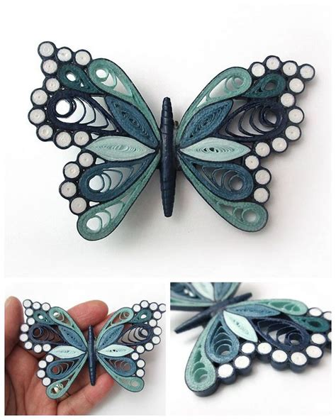 flutterby quilling designs quilling butterfly paper