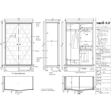 furniture drawings  autocad plans diy