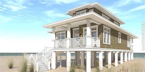 3 Bedroom Beach House. Landlubber House Plan