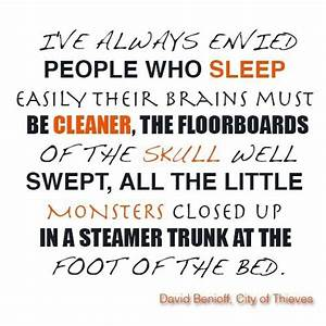 City Of Thieves... City Of David Quotes