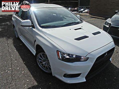 Buy New New Wicked White 2014 Mitsubishi Lancer Evolution