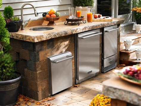 outdoor kitchen islands pictures tips expert ideas hgtv