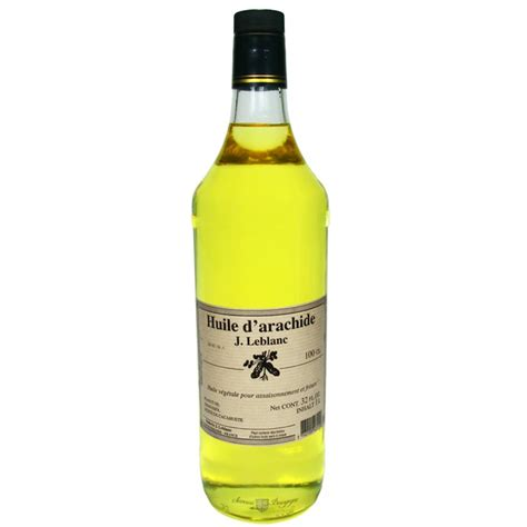 cuisine ilea huile d 39 arachide 100cl huiles salé saveurs de