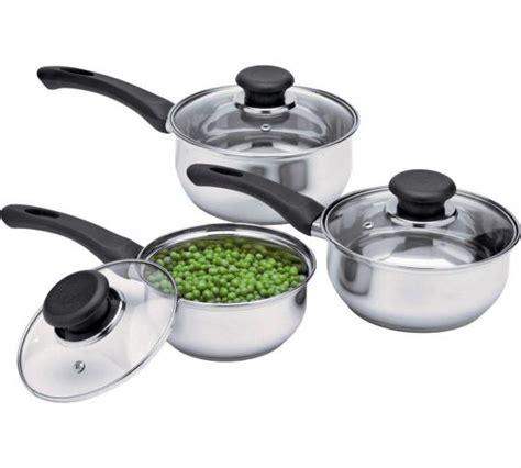 argos pan stainless sets steel saucepan value piece sauce medium tefal independent frying cooking simple range
