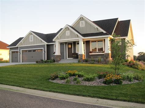one craftsman style homes single craftsman style homes craftsman style ranch