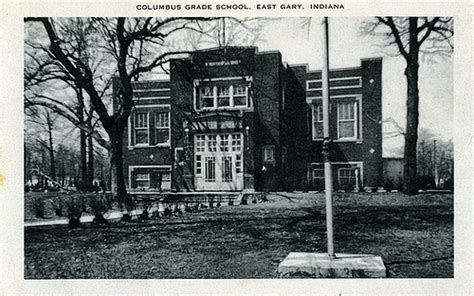 Columbus Grade School, circa 1950 - Lake Station / East Ga ...