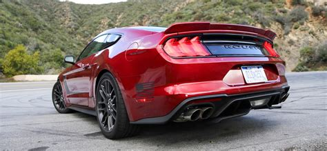 ford mustang roush stage  review stacked  power