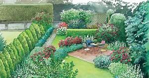 Blumenbeete Zum Nachpflanzen : reihenhausg rten geschickt gestalten reihenhausgarten garten garten ideen und schmaler garten ~ Yasmunasinghe.com Haus und Dekorationen