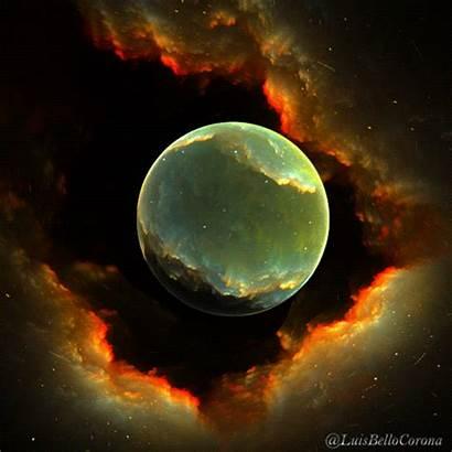 Moon Energy Sphere Deviantart Luisbc Meditation Gifs