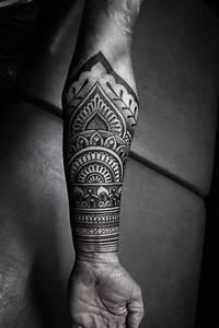 Tatouage Homme Cheville : 300 id es de tatouages mandala homme femme signification tattoo mandala ~ Melissatoandfro.com Idées de Décoration