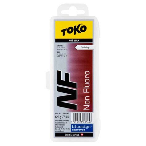 toko  fluoro eco wax  red ski servicing