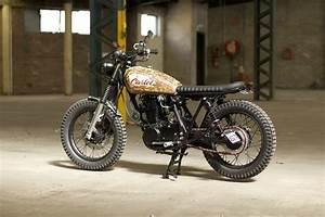 Gasoline Motor Co  Yamaha Sr400 Scrambler