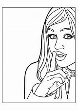 Celebrity Coloring Montana Hannah Pages Books Last Printable Cat Q2 sketch template