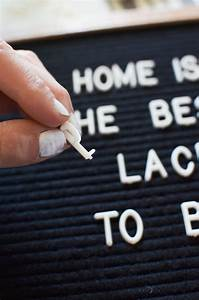 5 ways to use a letter board With board that you put letters on