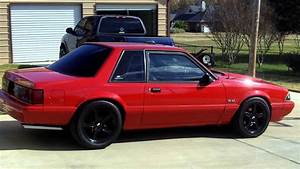 1993 Ford Mustang 5.0 LX coupe - YouTube