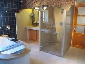 Pierremarie douches for Separation salle de bain