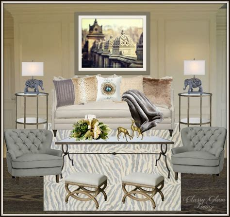 Living Room Reveal And Styling Tips — Classy Glam Living