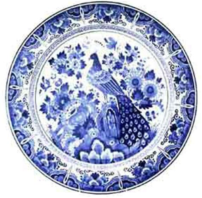 touch  dutch de porceleyne fles  blue peacock