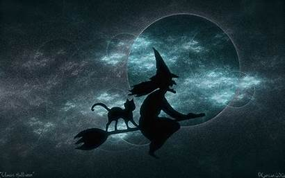 Witches Wallpapers Witch Flying Halloween Hex Wallpapersafari